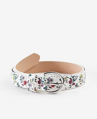 Ann Taylor Floral Belt
