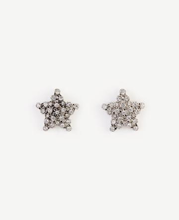 Ann Taylor Star Crystal Stud Earrings