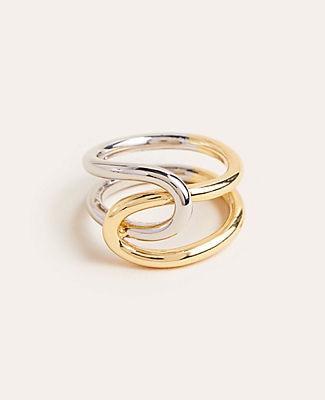 Ann Taylor Two Tone Ring
