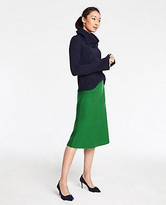 Ann Taylor A-line Sweater Skirt