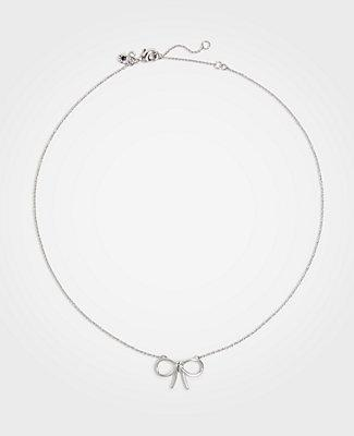 Ann Taylor Bow Necklace