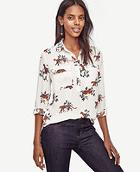 Ann Taylor Jungle Cat Camp Popover