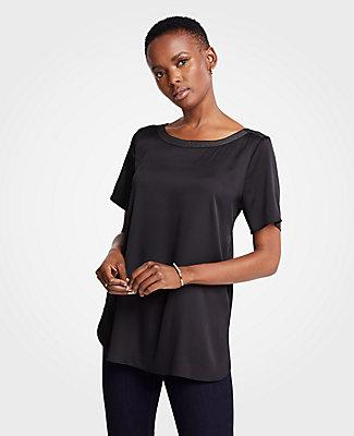 Ann Taylor Shirttail Top