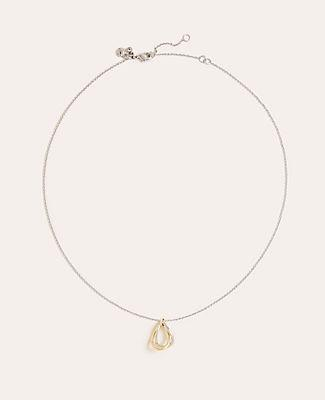 Ann Taylor Two Tone Delicate Necklace