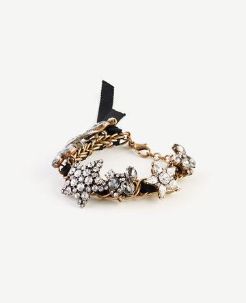Ann Taylor Star Crystal Bracelet