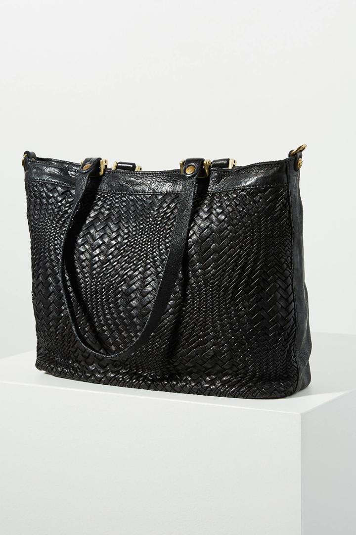 Campomaggi Vanessa Woven Tote Bag