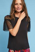 Eri + Ali Winged Lace Tee