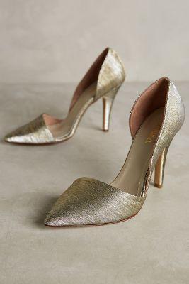 Vanina Esca Heels Gold