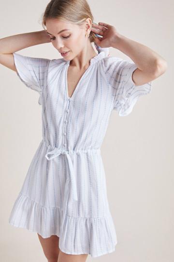 Paige Ari Striped Dress