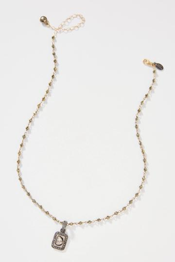 Jemma Sands Love Essex Diamond Necklace