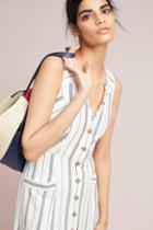 Maeve Leslie Textured Stripe Dress