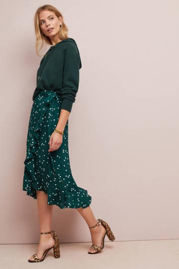 Faithfull Celeste Wrap Skirt