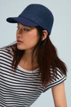 Anthropologie Felted Baseball Cap
