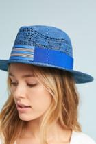 Lola Hats Lola Striped Fedora