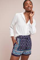 Ett:twa Sydney Scarf-printed Shorts