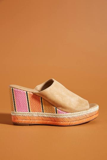 Anthropologie Polly Wedge Sandals
