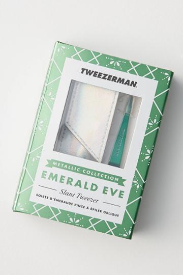 Tweezerman Emerald Eve Slant Tweezer