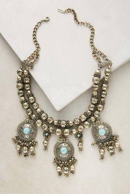 Bauble Bar Byzantine Bib Necklace