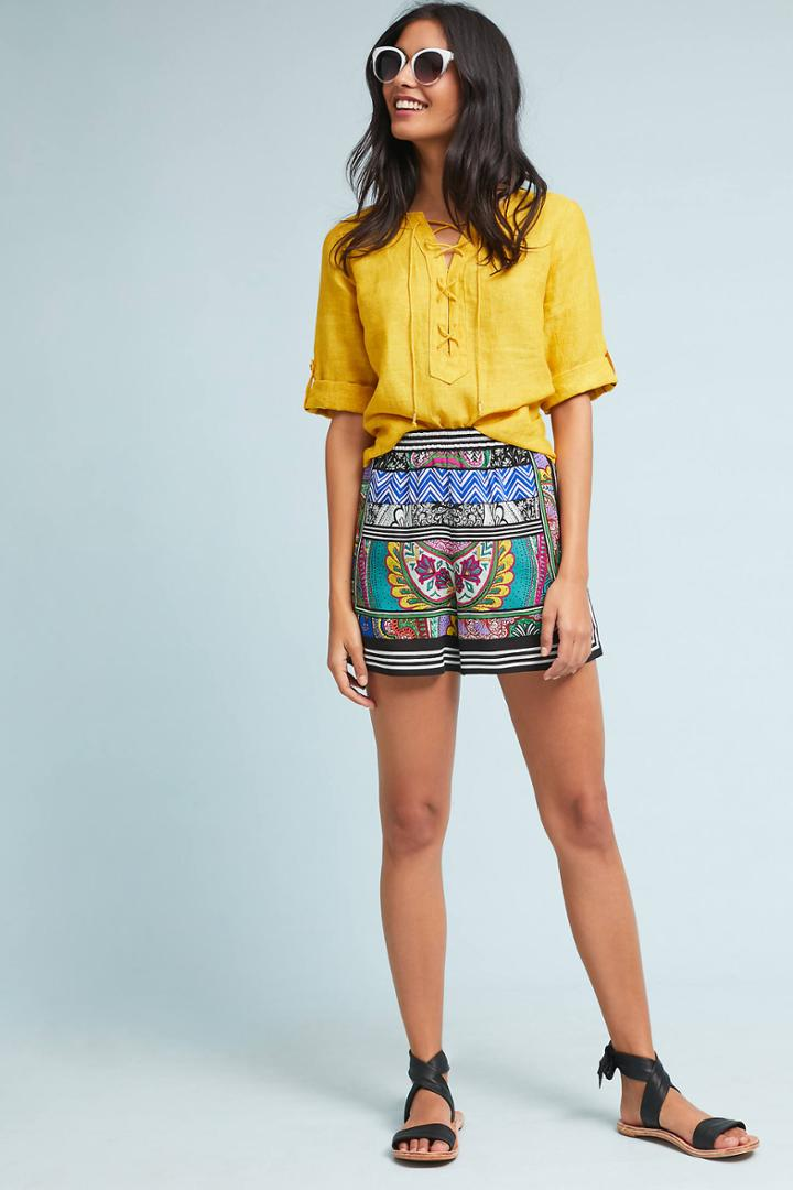 Ett:twa Wynnewood Printed Shorts