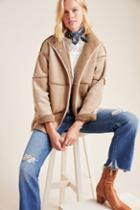 Velvet By Graham & Spencer Albany Reversible Sherpa Jacket