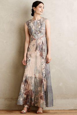 Anthropologie Isidora Maxi Dress