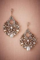 Anthropologie X Bhldn Flora Chandelier Earrings