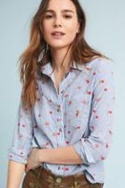 Maeve Embroidered Buttondown