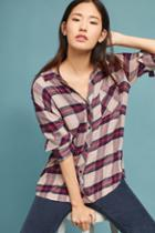 Rails Long-sleeve Plaid Buttondown
