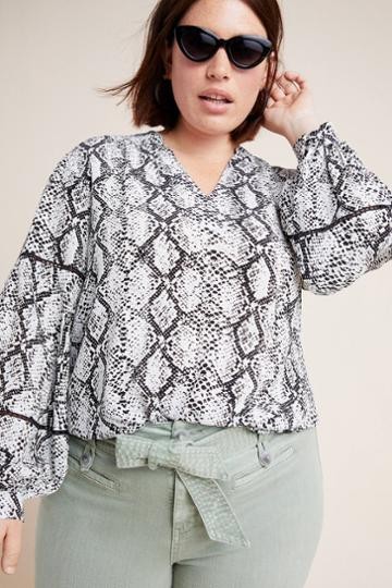 Bl-nk Anista Peasant Blouse