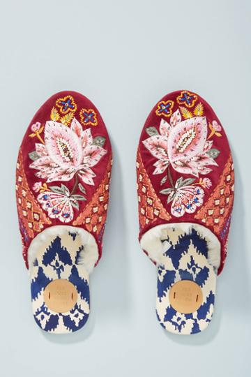 Far Away From Close Embellished Slide Slippers