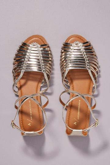 Anthropologie Edie Woven Sandals