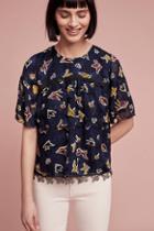 Anna Sui Skyland Silk Blouse