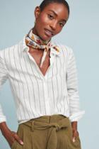 Eri + Ali Salinger Striped Buttondown
