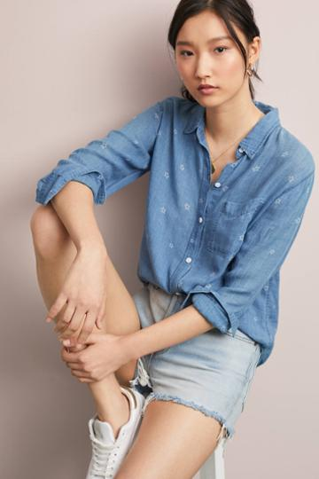 Rails Ingrid Chambray Buttondown