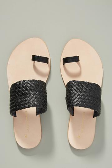 Anthropologie Kendall Slide Sandals