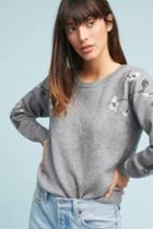 Moth Lilly Embroidered Pullover