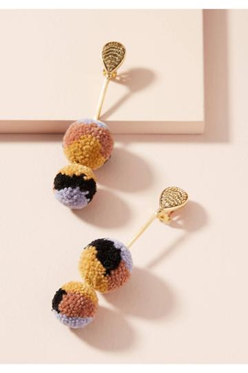 Mignonne Gavigan Doris Pom Earrings