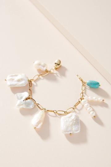 Timeless Pearly Pearl Charm Bracelet