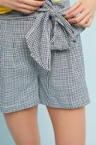 Cartonnier Gingham Tie-waist Shorts
