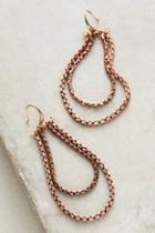Serefina Copper Teardrop Earrings