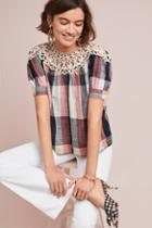 Maeve Plaid Swing Top