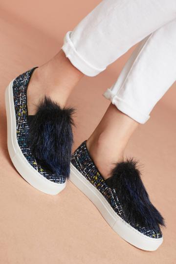 Bettye By Bettye Muller Tweed Sneakers