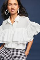 Eri + Ali Francis Ruffled Buttondown