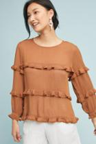 Eri + Ali Penhors Ruffled Top
