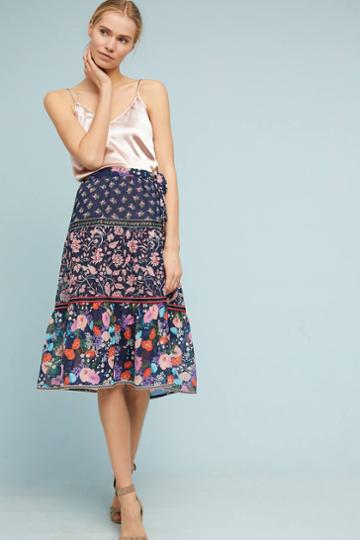One September Floral Melody Skirt