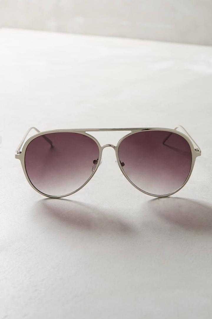Anthropologie Chandler Aviator Sunglasses