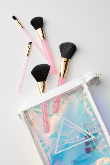 Pure Aura Acrylic Makeup Brush Set