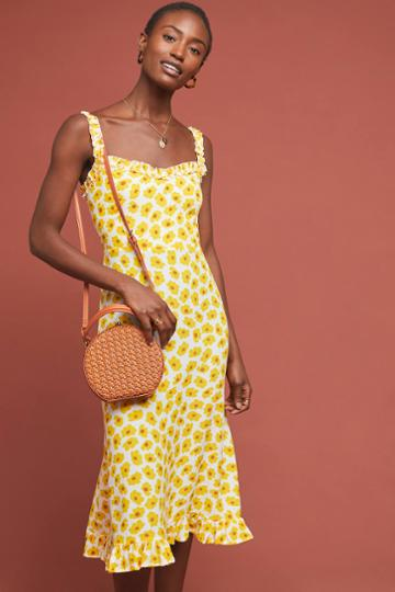 Faithfull Sunflower Midi Dress