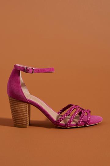 Anthropologie Annabel Heeled Sandals