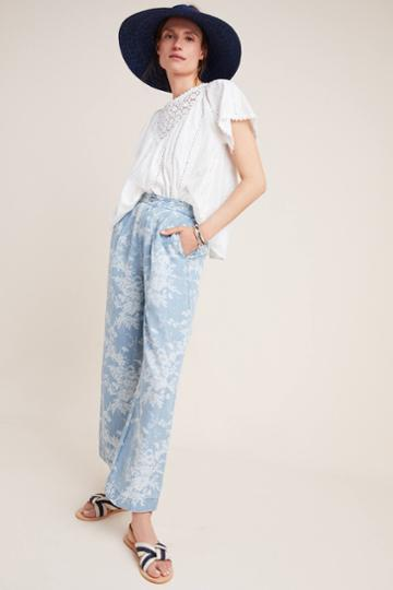 Paige Reeve Tropical Toile Pants